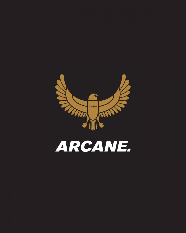 Arcane Clothing logo design
