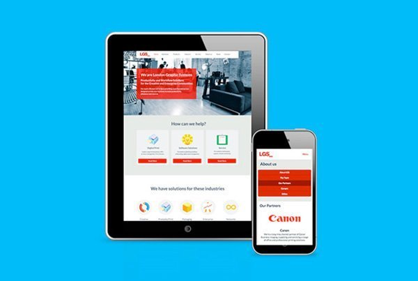 London Graphic Systems – Website