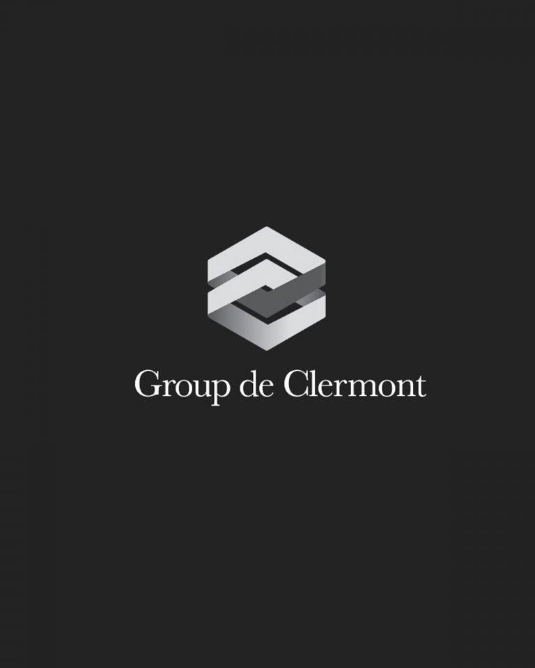 Group de Clermont logo design