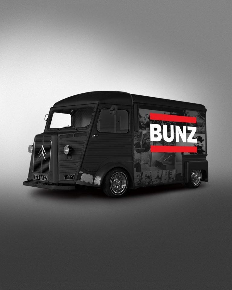 BUNZ logo design