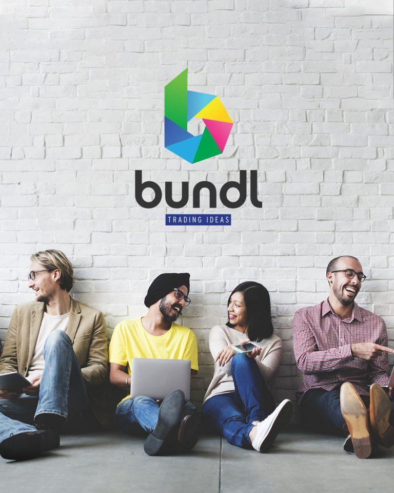 Bundl logo and website design