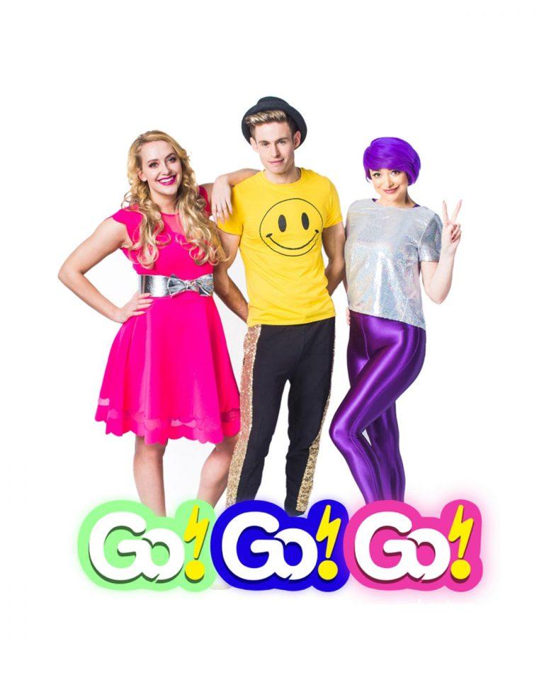 Go!Go!Go! logo design