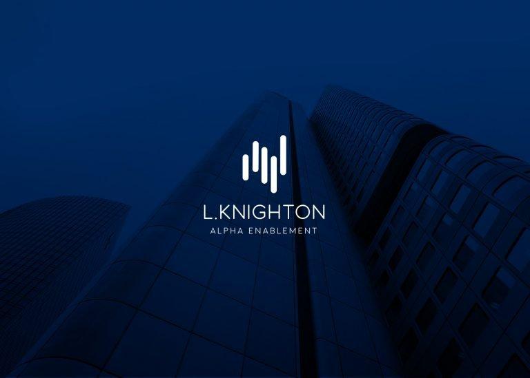 L.Knighton logo design