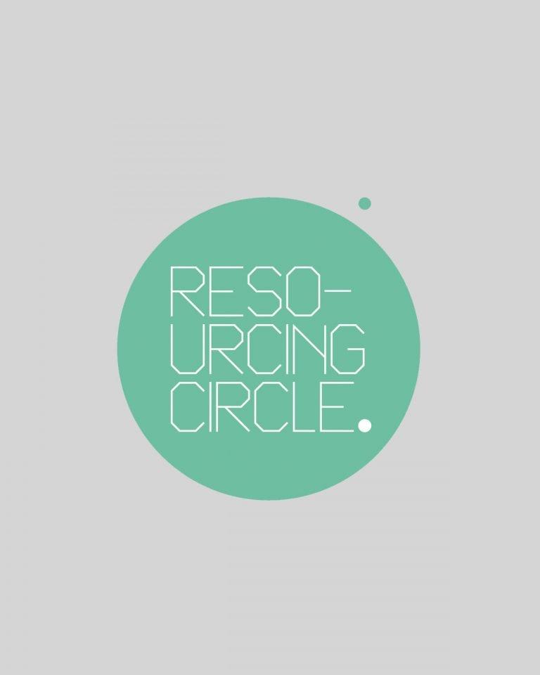 Resourcing Circle logo design